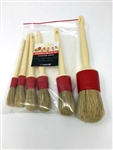 RG UK Raceglaze Ltd 5 Brush Set + XL Brush 5+1