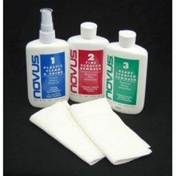 Novus 123 Plastic Polish Kit  8oz.