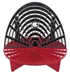 Grit Guard Bucket Insert (Red) with Washboard Bucket Insert (Black)