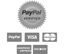 PayPal Verified, Major Credit Cards Accepted